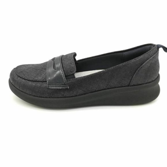Cloudsteppers By Clarks Ayla Form Penny Loafer New